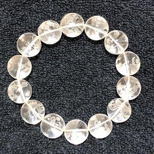 Dragon Motif Glass Bead Bracelet